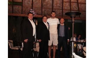 Krepšininkas Jonas Valančiūnas Palangoje puikiai praleido laiką