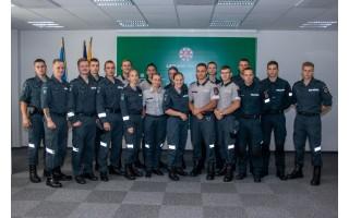 Klaipėdos apskrities policijoje – devyniolika naujokų