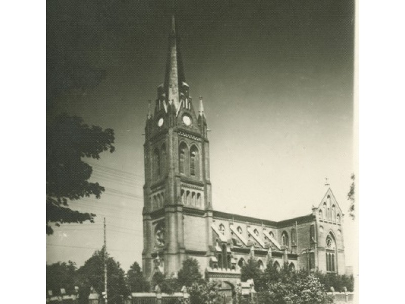 Palanga, Katalikų bažnyčia. Fot. I. Stropus, 1936 m.