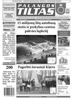 Palangos tilto laikraštis, Data: 2014-02-24, Numeris: 16(1254)