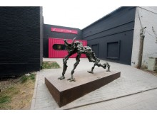 Salvadoro Dali skulptūra Pekino meno zonoje.