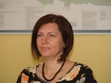Rinkliavų skyriaus vedėja Žaneta Žulkuvienė.