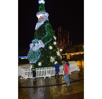 Palangos Kalėdų eglė – viena iš gražiausių šalyje