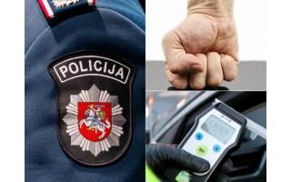 J. Basanavičiaus gatvėje teko tramdyti neblaivų policininką