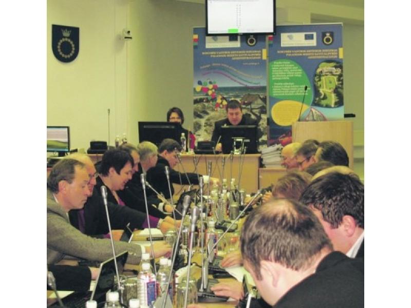 Dėl miesto vyriausiojo architekto suėmimo – gerokai trumpesnė Tarybos posėdžio darbotvarkė