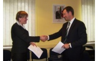 Pasirašyta rangos darbų sutartis dėl Palangos koncertų salės rekonstrukcijos