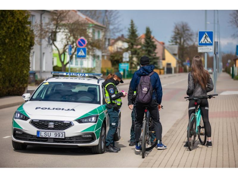 Klaipėdos apskr. VPK policijos komisariato foto