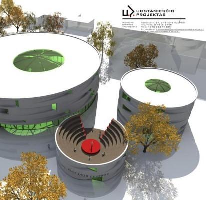 """Vasaros estrados rekonstrukcijos projektą rengs klaipėdiečiai – """"Uostamiesčio projektas""""."""