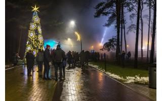 Naujųjų metų sutiktuvės Palangoje – vos ne pavyzdinės