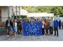Europos paveldo dienų vėliava suplevėsavo prie atgimstančio Kurhauzo.