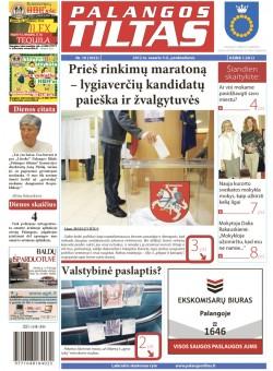 Palangos tilto laikraštis, Data: 2012-02-02, Numeris: 10 (1053)