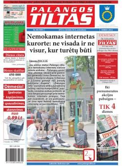 Palangos tilto laikraštis, Data: 2012-06-25, Numeris: 48 (1091)