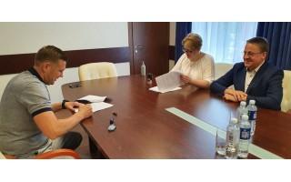 Palangos naujas rekordas: per vieną dieną pasirašytos 5 sutartys dėl Palangos miesto infrastruktūros sutvarkymo