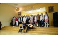 Palangoje – moksleivių iš Bergeno Riugeno saloje (Vokietija) delegacija