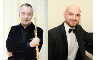 """Klaipėdos koncertų salėje fleita ir fortepijonas kurs muzikinę """"Žiemos fantaziją"""""""