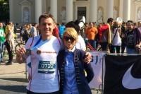 Maratono bėgikas L. Baužys ir Palangos moterų Lions klubas kviečia labdaros akcijai