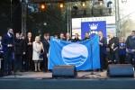 Palangai įteikta aukščiausią paplūdimių kokybę patvirtinanti Mėlynoji vėliava
