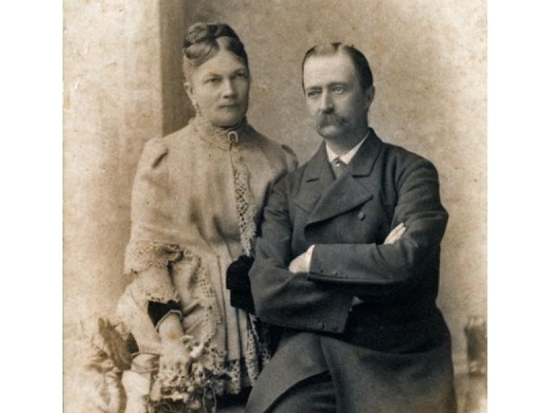 Grafai Juozapas ir Sofija Tiškevičiai. Iš Kretingos muziejaus ikonografijos rinkinio.