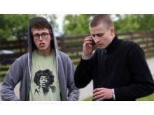 Palangiškiai Anžėjus (kairėje) ir Paulius (dešinėje) - geriausi draugai nuo vaikystės.