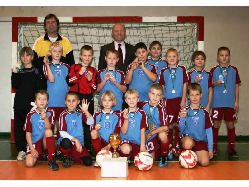 Kalėdiniame Tarptautiniame vaikų futbolo turnyre Palangos komanda liko ketvirta