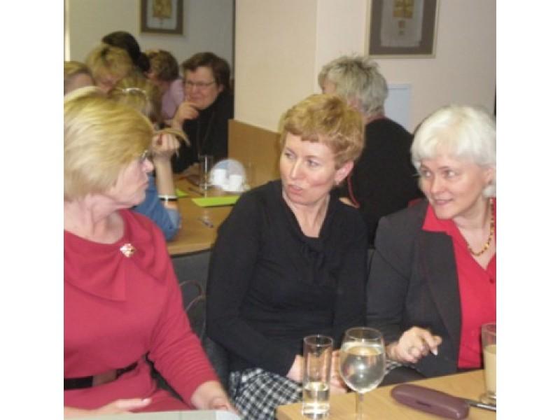 Iš kairės: B. Mazrimienė, D. Šeižienė ir I. Milkontė.