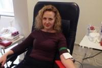 Svivaldybėje vykusioje kraujo donorystės akcijoje – rekordinis dalyvių skaičius
