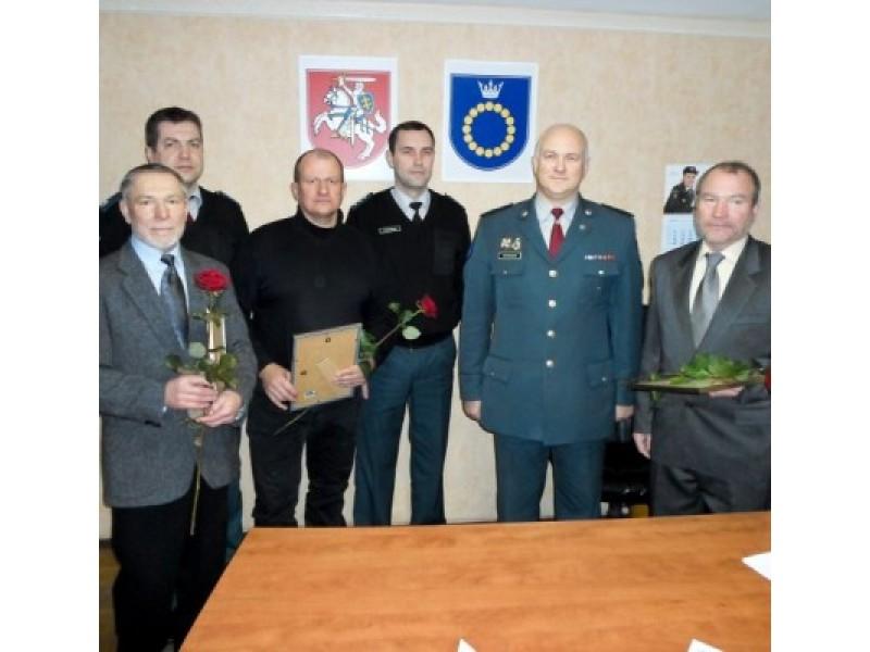 Palangos miesto policijos komisariate padėkota rėmėjams.