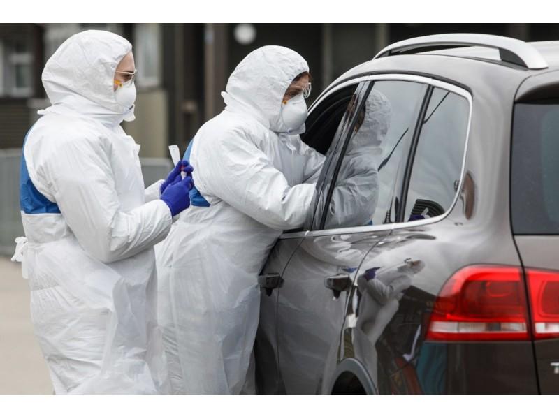Mobiliajame koronaviruso patikros punkte Palangoje per dvi savaites atlikti 339 tyrimai
