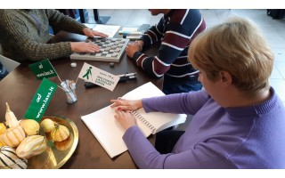 Baltosios lazdelės diena  su brailio raštu Palangoje (FOTO GALERIJA)