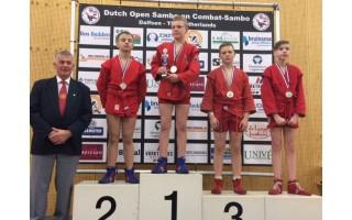 Palangos sambo sportininkai vyko į Olandiją