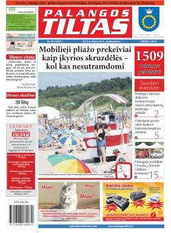 Palangos tilto laikraštis, Data: 2012-07-19, Numeris: 54 (1097)
