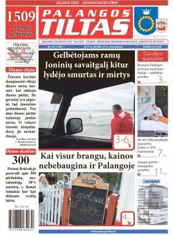 Palangos tilto laikraštis, Data: 2017-06-26, Numeris: 45(1576)