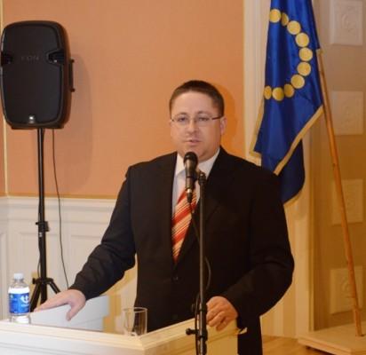 Vakar vakare pilnutėlėje Kurhauzo salėje miesto meras Šarūnas Vaitkus atsiskaitė už šiais metais nuveiktus savo ir Tarybos valdančios koalicijos darbus.
