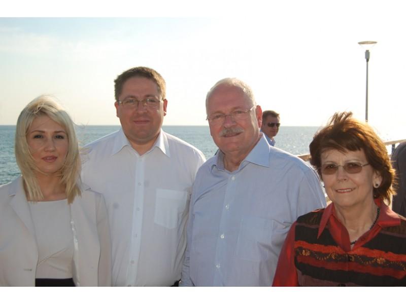 Slovakijos prezidentas Palangoje domėjosi reabilitacija pakeistam sąnariui