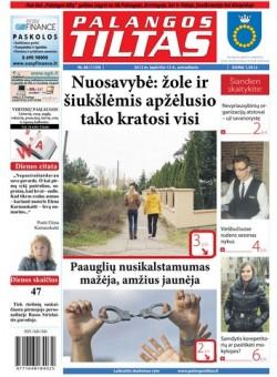 Palangos tilto laikraštis, Data: 2012-11-14, Numeris: 86 (1129)
