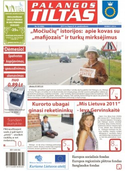 Palangos tilto laikraštis, Data: 2011-07-07, Numeris: 52 (996)