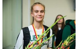 Krepšinio sensacija Justė Jocytė - jau Prancūzijoje
