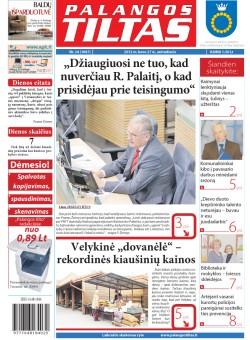 Palangos tilto laikraštis, Data: 2012-03-26, Numeris: 24 (1067)