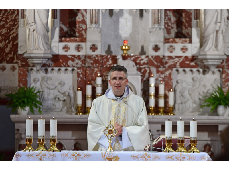 Palangos parapijos klebonas Kęstutis Balčiūnas