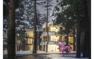 Į poilsio namus Palangoje investuoja 15 mln. eurų: išsaugos ir išplės pušyną