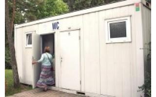Poilsiautojui tualetas Palangoje buvo tapęs spąstais