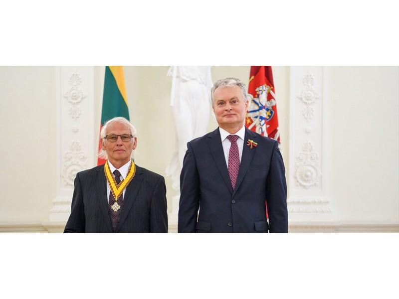 Roberto Dačkaus (Prezidentūra) nuotr.