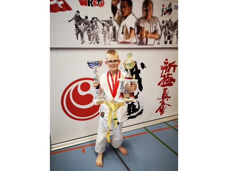 Palangiškis Nojus Trukšanovas tapo pasaulio čempionu vaikų kategorijoje