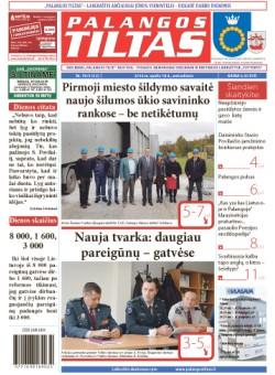 Palangos tilto laikraštis, Data: 2016-10-17, Numeris: 78 (1512)