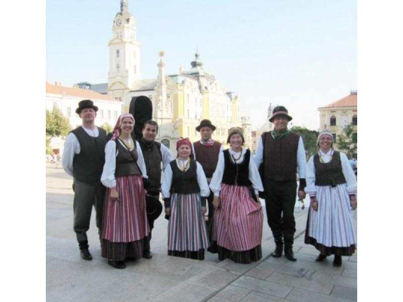 Mėguviškiai Lietuvos kultūros dienose Vengrijoje